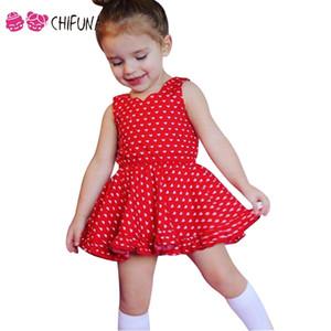 chifuna été filles robe avec shorts 2 pcs coeur modèle sans manches vêtements de mode pour enfants tenues 2017 nouvelle robe de princesse