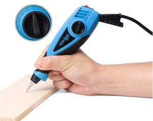 Gravador elétrico da pena da gravura 13W com ponta de aço do carboneto para o vidro plástico de madeira do metal
