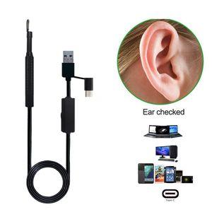 USB 귀 청소 도구 HD 비주얼 귀 스푼 미니 카메라 펜으로 다기능 Earpick 귀 케어 in-ear 청소 내시경