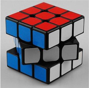 새로 고전 장난감 3x3x3 아 BS 스티커 구획 고품질 마술 큐브 다채로운 배우 교육 퍼즐 Cubo Magico Toys