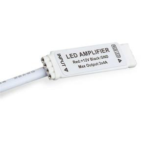 4pin DC 12 в 12 в 144 Вт мини RGB Led усилитель с DC разъем для 3528 5050 RGB светодиодные полосы