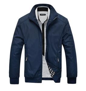 NEST Güz-Ceket Erkekler Palto Rahat bombacı Ceketler Erkek açık Rüzgarlık ceket jaqueta masculina veste homme marka giyim Artı Boyutu