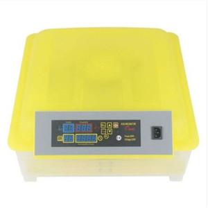 48 Egg pratique entièrement automatique incubateur de volaille (norme américaine) incubateur de volaille Transparent Jaune