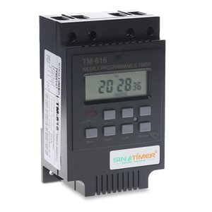 Freeshipping 220V Control Power Timer AC Timer Switch Control Output control: 30A 250V AC Time Relay Electronic Instrument