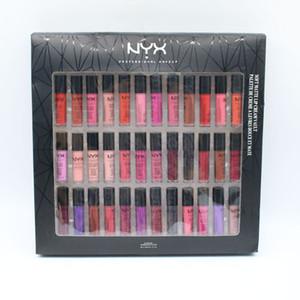 Dropshipping NYX SOFT MATTE LIP CREAM 36colors Set Lipstick Lip Gloss Matte No Fading Lingerie Vault 30colors lipgloss