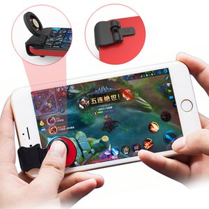 Mobile Fling Joystick Stabile Clip Touchscreen Joystick Universal Clip-on Clamp Unterstützung mobile Legende und mehr Spiel Joystick