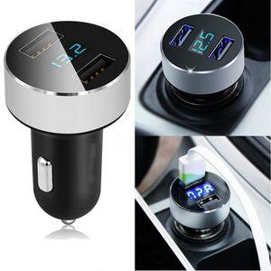 Cigarrillos nuevo cargador del coche 5V / 3.1A de carga rápida de doble puerto USB Adaptador para encendedor de tensión envío
