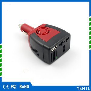free shipping car Inverter Power 150w DC 12V to AC 220V 50Hz Converter Transformer Laptop Notebook Phone Charger Universal USB 2.1A travel