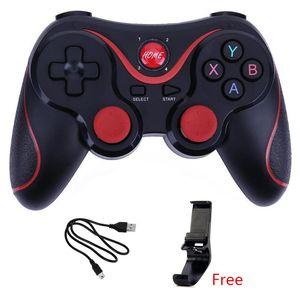 Wireless joystick Bluetooth 3.0 T3 Gamepad controller di gioco X3 Gaming telecomando per Tablet PC Android smartphone con il supporto