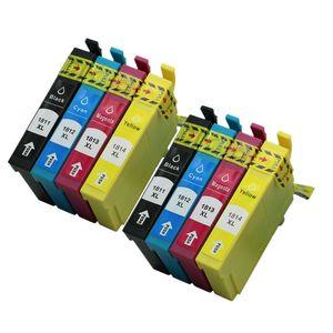 Epson Mürekkep Kartuşları İfade 8PK T1811 T1812 T1813 T1814 Için Yedek Ev XP-312 XP-315 XP-102 XP-202 XP-205 XP-301