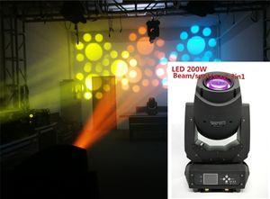 LED 200W 230W Işın Nokta Yıkama 3in1 gobo hareketli kafaları Konser Işık dj göster disko ışık için süper parlak ışıklar