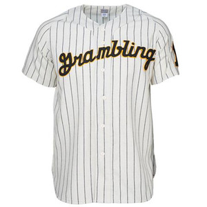 GramblingStateUniversity 1963 Home Jersey 100% Stitched Embroidery Logos Vintage Baseball Jerseys Custom Any Name Any Number Free Shipping