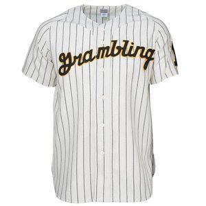 GramblingStateUniversity 1963 Ev Forması 100% Dikişli Nakış Logolar Vintage Beyzbol Formalar Özel Herhangi İsim Herhangi Bir Numara Ücretsiz Kargo