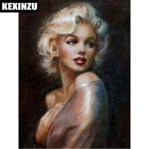 "2018 Neue Ankunft Voller Quadratmeter Diamant 5D DIY Diamant Malerei ""Marilyn Monroe"" Stickerei Kreuzstich Strass Mosaic Painting Decor Geschenk"