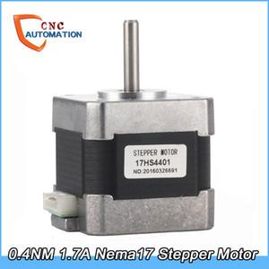 0.4NM 4-свинцовый Nema17 шаговый двигатель 42 двигатель Нема 17 42BYGH 1.7A (17HS4401) 3D-принтер двигателя и ЧПУ XYZ