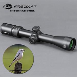 2,8-10X40 Taktische Luftgewehr Optik Spektive Grüne Film Anvisieren Selbst Extinction Zylinder Zielfernrohr für Jagd