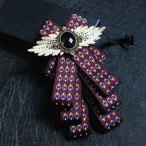 i-Remiel британский стиль старинные цветочные ленты бабочка галстук-бабочку для бизнеса свадьба жених Шафер рубашка одежда аксессуары