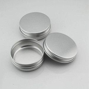 Nail Art Cream Pot Empty Round Aluminium Container Nail Art Jar Cosmetic Cream Jar Lip Balm Containers 30ml 30g