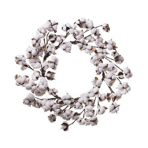 5 unids / lote 10 pulgadas Country Living bobina de algodón natural guirnalda para la decoración del cortijo envío gratis