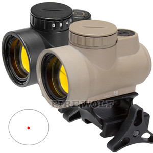 Trijicon MRO Style Holographic Red Dot Sight Optic Scope Tactical Gear Airsoft con 20mm Scope Mount para la caza