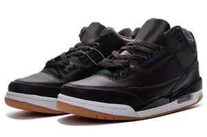 2018 Nuevo 3 III NRG Línea de tiro libre Katrina Corea del Sur Justin JTH OG Zapatos de baloncesto de cemento Alta calidad Moda para hombres 3s Zapatillas deportivas 8-13