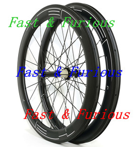 Ücretsiz Kargo !! hed siyah logosu Karbon Tekerlekler 60 mm gariplik tübüler Yol Bisikleti Karbon Tekerlek 700C 25mm genişlik Yol Bisikleti