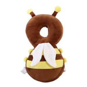 Ideacherry Baby Cartoon Sombrero de seguridad para niños pequeños Accesorios para caminar Gorros de protección Soft Security Casco Sombrero Protector para niños