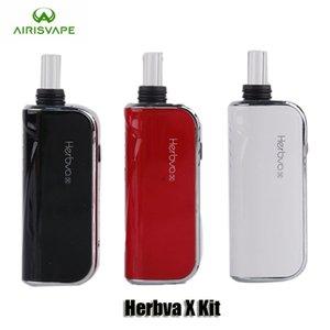 100% Original Airis Herbva X Kit 1800 mAh Batterie 3 In 1 Trockenen Kraut Wachs Dicke Öl Vaporizer Vape Pen Kits Mit Keramikkammer