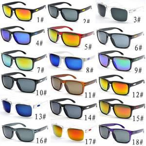 Vendita calda degli occhiali da sole a basso costo per gli occhiali da sole di Desinger Uomini sport ciclistici abbagliano specchi colore occhiali 18 colori trasporto libero