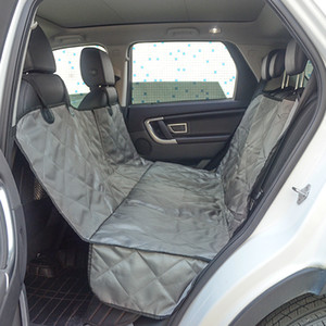 Pet Coverfor Car Dog Car Backseat Cover 100% Waterproof Scratch Proof antideslizante Luxury Back Seat Cover Hamaca para autos, camiones y SUVs-Travel