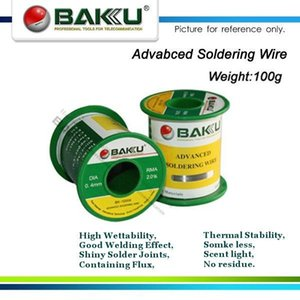 (15 pieces lot), Dia.0.6mm, 95g Activated Advanced No-Clean Soldering Wire.High Wettability,Shiny Solder Joints,No residue.