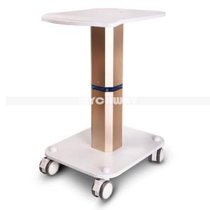 Profesional Salon Trolley Beauty Stand Iron Trolley Stand Montado Pedestal de peinado para HIFu Cavitación ultrasónica RF Máquinas de belleza