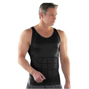 Yeni Sıcak Erkekler Vücut Zayıflama Karın Shaper Göbek İç Shapewear Bel Kuşak Yaz Spor Yelek Erkekler