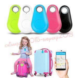 Tracker GPS Mini Smart Wireless Bluetooth 4.0 rastreador GPS localizador Bolsa tecla de alarma anti-perdió el buscador iPhone para Android Monedero de coches Kid