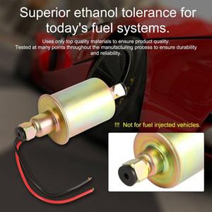 Ücretsiz kargo E8012S Taşınabilir Benzin 12 V Düşük Basınçlı Elektronik Yakıt Pompası Yağ Transfer Pompası