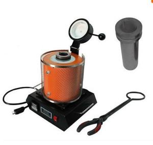 ¡NUEVO! Horno de fusión electrónico de mano para oro / plata / cobre / metal, (220V / 110V, 1KG)