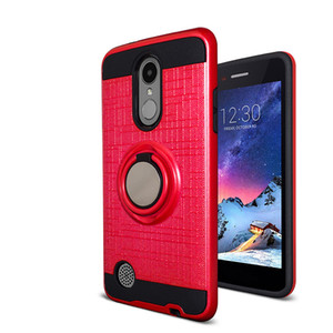 For ZTE Blade Z MAX Z982 Max XL Z981 Force N9517 Magnetic Ring Kickstand Car Luxury Phone Case Shockproof 360 Degree Rotating Finger Holder