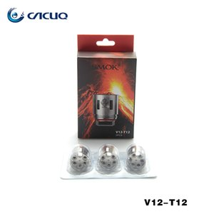 SMOK TFV12 serbatoio Coil capo Duodenary 0.12ohm V12-T8 0.16ohm V12-Q4 atomizzatore core al 100% del magazzino originale Smoktech bobine noi