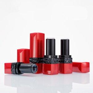 Rossetto Tubi contenitori di plastica fai da te rosso vuoto Lip Rouge Caso Maquillaje donne sexy Beauty Tools 200pcs