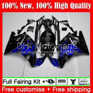 Body for Honda Blue Black CBR 600F2 FS CBR600 F2 91 92 93 94 AAMT4 CBR600FS CBR 600 F2 CBR600F2 1991 1992 1993 1993 Hot Fleading هيكل السيارة