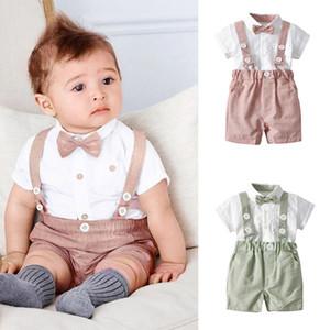 Neonato neonato Set di vestiti c 98% cotone o-collo 2 pezzi tre pezzi Baby Infant Outfit