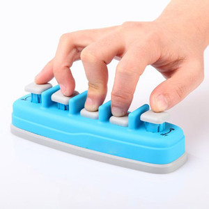 Blue Piano Electronic keyboard Hand Finger Exerciser Tension Training Trainer