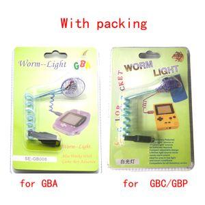 Portátil flexível semáforo luz de iluminação LED lâmpada para GBA GBC Gameboy antecedência GBP de alta qualidade NAVIO RÁPIDO