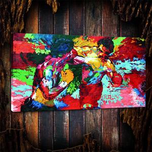 Рокки Против Аполлона-Лерой Нейман Бокс , Холст штук Home Decor HD печатный современное искусство живопись на холсте (без рамы / в рамке)