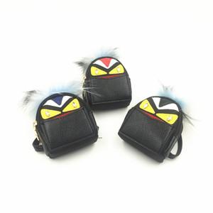 Enfants Coin Sacs à main Fashion Cartoon Little Devil Design avec des sacs en peluche