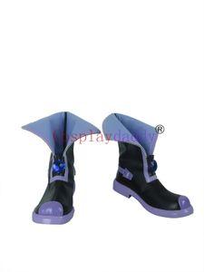 Hyperdimension Neptunia Neptune / Ultra Dimension Purple Cosplay Shoes Botas