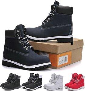 Inverno Homens Mulheres Impermeável Botas exteriores Casais Genuine Quente couro botas de neve calçados casuais Martin botas de caminhada Esportes corte alto