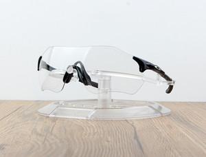 Occhiali da ciclismo Occhiali sportivi da esterno Occhiali da ciclismo Occhiali da sole Uomo Occhiali da corsa senza montatura Lenti fotocromatiche Occhiali da bicicletta con scatola