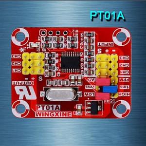 Sinal do pulso de Freeshipping ao conversor análogo da tensão / PWM para a calibração servo do sinal do teste