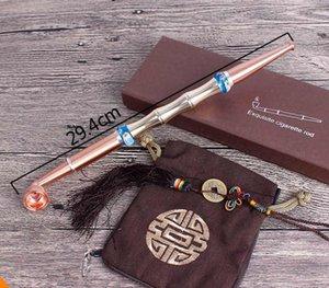 Agata Bead Long Rod Old-fashioned Dry-smoking Pole Filter Secchiello per pentole